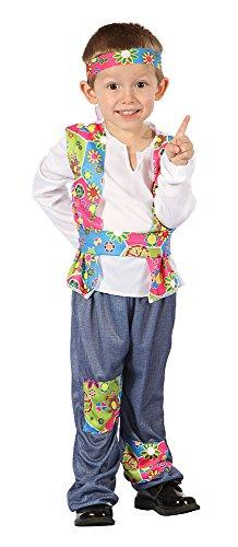 Bristol Novelty CC075 Hippie Kostüm für Kleinkinder