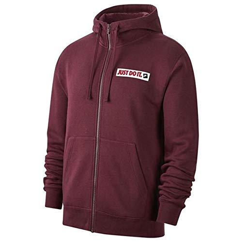 Nike Herren Sportswear Sweatshirt, Braun (Night Maroon), S