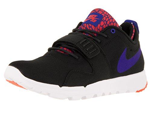 Nike Herren Trainerendor Turnschuhe, Black (Black (Schwarz/Blau-Weiß-RCR TTL Crmsn), 44.5 EU
