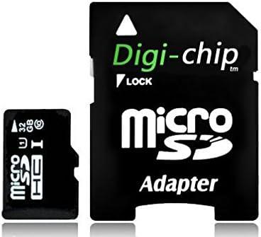 Digi-Chip HIGH Speed 32GB UHS-1 Class 10 Micro-SD Memory Card for LG K4, LG K7, LG K8 & LG K10 Phone Smartphone