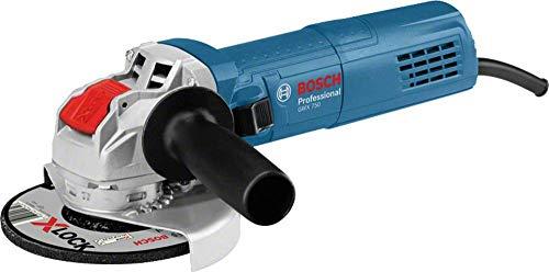 Bosch Professional Winkelschleifer GWX 750-125 (750 Watt, für X-LOCK-Zubehör, Scheiben-Ø: 125 mm, im Karton)