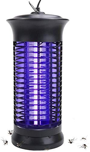 Auzof Lámpara Antimosquitos Electrico,Lámpara Mata Insectos Electrico Lámpara Anti Mosquitos UV Mosquitera Eléctrica contra Mosquitos, Polillas y mas Insectos