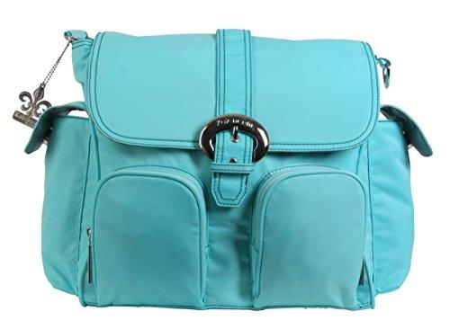 Kalencom Nylon Double Duty Diaper Bag, Aqua