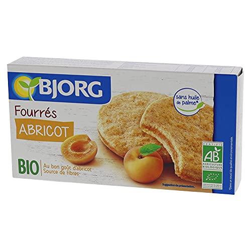Bjorg Fourrés Abricot - Biscuits Bio – Source de fibres - 175 g