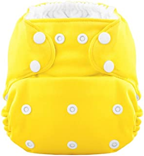 Coquí Baby Hero Trim-Fit Pocket Cloth Diaper with Athletic Active Wick Bamboo Insert (Sun Singer)