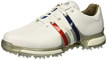 adidas Men s Tour360 2.0 Golf Shoe FTWR White/Scarlet/Night Sky 15 M US