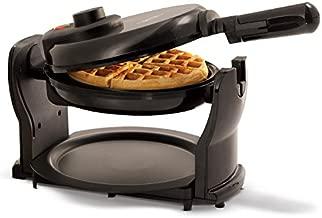 BELLA Classic Rotating Non-Stick Belgian Waffle Maker, Perfect 1