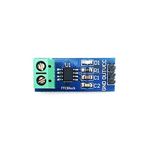 FTCBlock 3pcs ACS712 Current Sensor 30A Range Analogue AC/DC for Arduino Ras PI