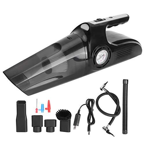 WEILafudong Aspiradora-húmedo y seco aspiradora de coche-USB recargable 120W aspirador