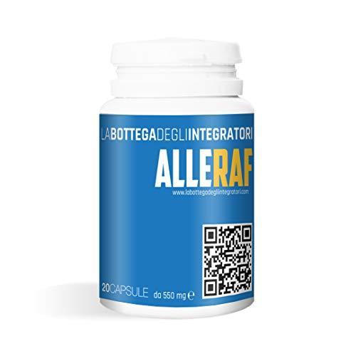 Quercitina bromelina acetilcisteina | sistema immunitario | 1 capsula al giorno | Alleraf 20 capsule