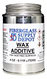 Fiberglass Supply Depot Wax Additive - 4 oz...