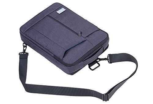 TROIKA BAG TO BUSINESS – IPC61/DG – Umhängetasche – für iPad Pro – 11 gepolsterte Fächer – für Tablet (bis 12.9''), Laptop (bis 13.3''), Tablet (bis 9.7'') – Smartphone, Kabel – TROIKA-Original