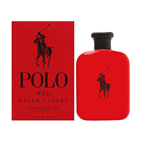 Ralph Lauren Polo Red Spray for Men, 4.2 Ounce