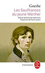 Les souffrances du jeune Werther de Johann Wolfgang von Goethe