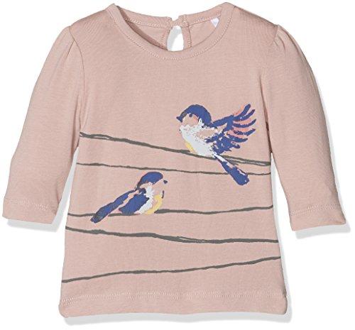NAME IT NITDISSIS LS TOP MZNB, T-Shirt À Manches Longues Bébé fille, Rose (Rose Tan), 68