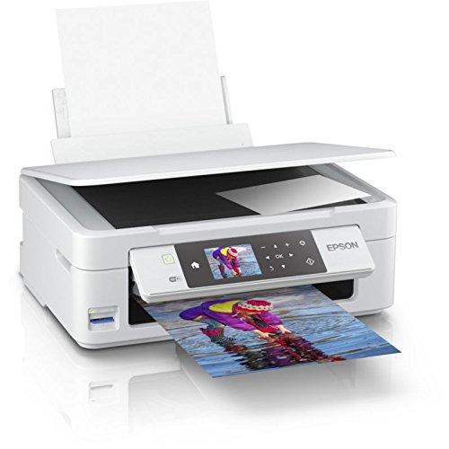 Impresora Epson Expression Home XP-455 | Multifunción en color blanco