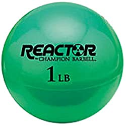 powerful Champion Barbell Hand Gym Ball, Kelly Green, £ 1