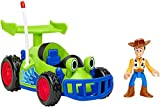​Roll vehicle along to race from one Toy Story adventure to the next! ​Eyes wiggle as RC rolls along! ​Sheriff Woody figure fits inside vehicle cockpit ​Includes vehicle and Woody figure For kids ages 3-8 years