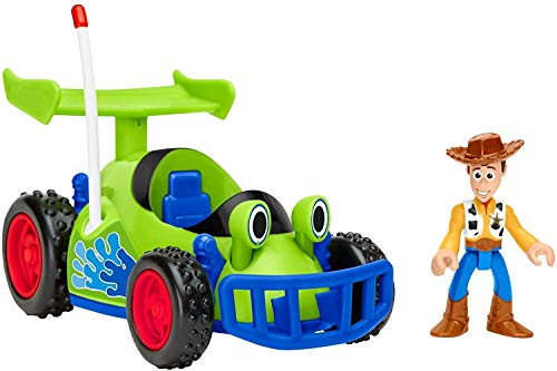 Fisher Price Imaginext Disney Toy Story Woody and R.C. [Amazon Exclusive]