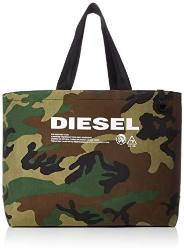 Diesel Herren THISBAGISNOTATOY D-THISBAG SHOPPER Turnbeutel, camouflage, Einheitsgröße