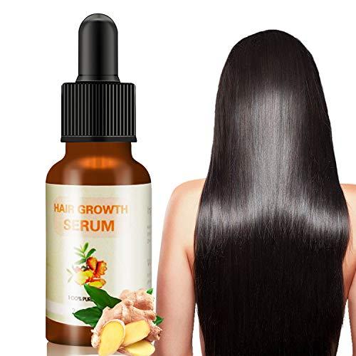J TOHLO-60ml Haarwachstum Serum, Hair Growth Serum, für haarwachstum, Anti Haarausfall für dünnes Haar, Haarwuchsmittel für Frauen und Männer,fördert dickeres, Volleres und schneller wachsenden Haar