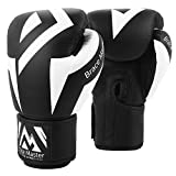 Brace Master Guantes de Boxeo Guantes de Bolsa Pesada Serie de Cuero de Calidad DG 2.0 Ideal para Kickboxing Muay Thai Sparring Training Bag