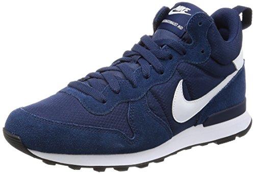 Nike 859478-400, Scarpe da Fitness Uomo, Bianco, Blu Navy, Blu Notte (Game Royal), 44 EU