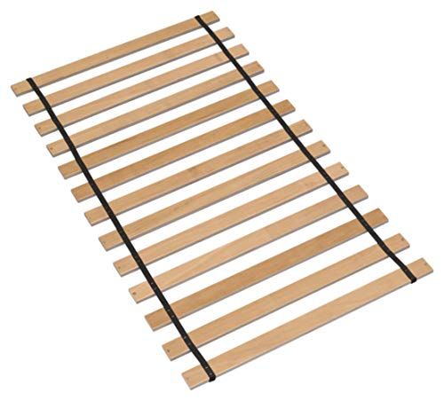 Ashley Furniture Signature Design - Frames and Rails Roll Slats - Twin Size - Component Piece - Contemporary Living - Brown