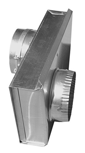 "Builder's Best 084149 SAF-T-DUCT Zero Periscope Adjustable Dryer Vent Periscope, Adjustable 0-5"" Length"