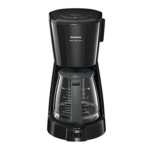 Siemens TC3A0303 Series 300 Plus - Cafetera de goteo, color negro ...