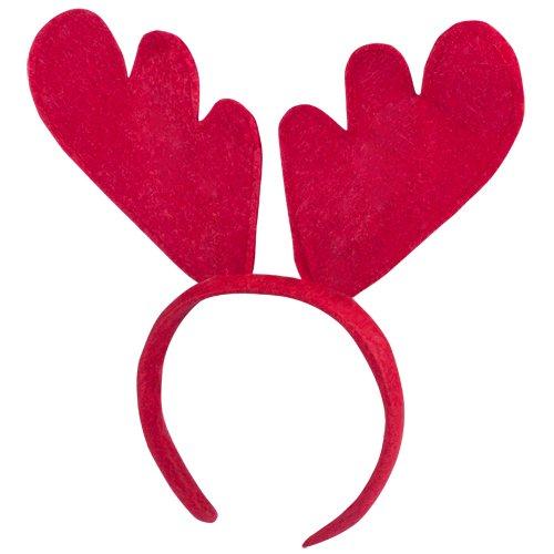 Subito disponibile Frontino per Capelli di Natale Natalizia in Feltro Renna Rudolph