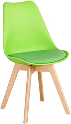 Amazon.com: JIALIZL Modern Design Dining Chair, Retro Lounge ...