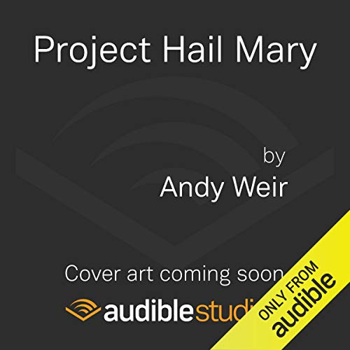 Project Hail Mary cover art