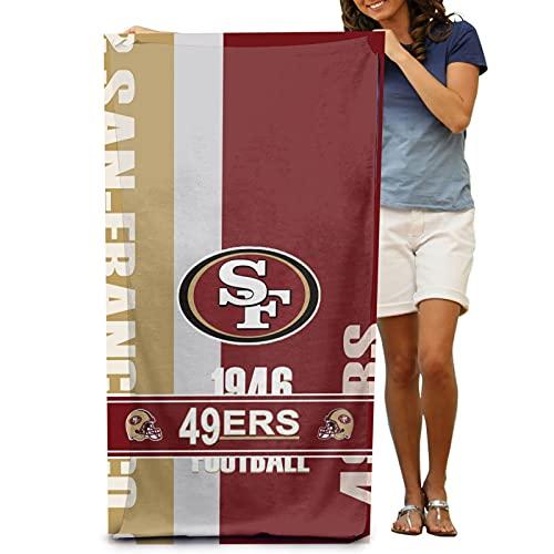 Shower Towels,49Ers Ultra Absorbent Fast Drying Cotton Bath Sheets for Women Men Best Friend Boyfriend Girlfriend 32x52 inch