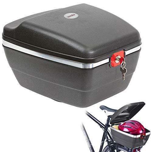 Westmark Fahrradkoffer für alle Gepäckträger, inkl. Befestigungsmaterialien, diebstahlsichere Befestigung, 14 Liter, Touring Tresor, 5430GE6S