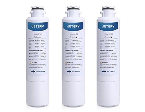Samsung DA29–00020B Ersatz Kühlschrank Wasser Filter, jetery kompatibel mit Kühlschrank DA29–00020A, haf-cin, EXP 46–9101, DA29–00019A Universal 3 Stück