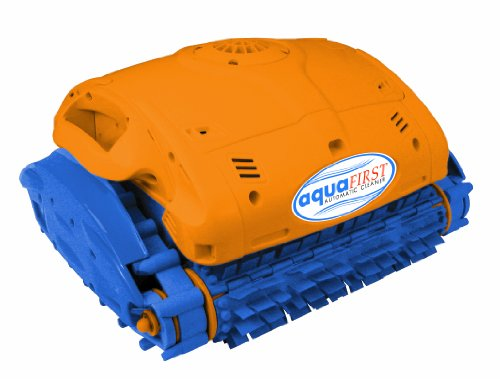 Blue Wave NE3290F Aquafirst Robotic Cleaner for In-Ground Pools,Orange/Blue