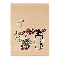 RZEMIN ロール竹カーテン レトロな中国風のロールアップシェード、ホームデコレーションパーティションカーテン、カスタムサイズの印刷 (Color : Bamboo-A, Size : 65cmx150cm)