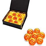 BRone Bolas del Dragón Dragon Ball, 7PCS DragonBall Z Bolas de Dragón 1 a 7 Estrellas con Caja de Re...