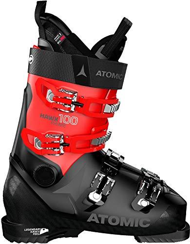 Atomic Unisex-Erwachsene HAWX Prime 100 Ski-Stiefel, Negro Y Rojo, 45 EU