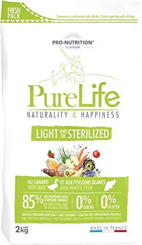 Pro Nutrition Flatazor Pure Life Light and Sterilized, Hundefutter, 12 kg
