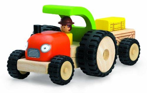Wonderworld WW-4042 Fahrzeug Traktor 10 x 18 x 14 cm, Multi