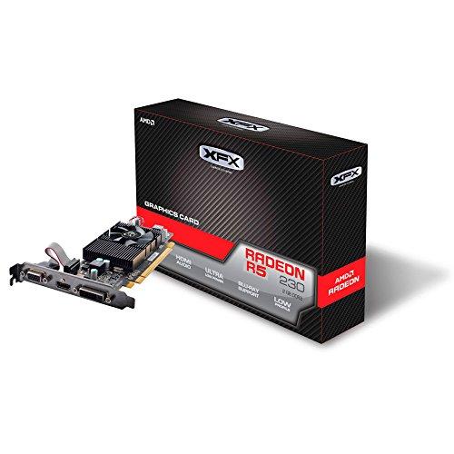 XFX AMD Radeon R5 230 2 GB GDDR3 - Tarjeta gráfica (Radeon R5 230, 2 GB, GDDR3,...