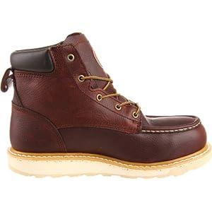 "Irish Setter Men's 83606 6"" Aluminum Toe Work Boot,Brown,10.5 EE US"
