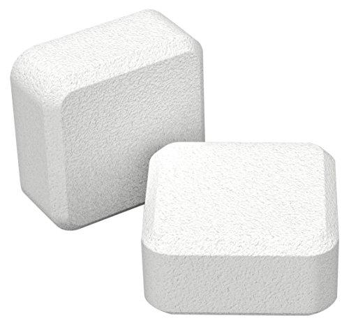 Qbo-Entkalkungstabletten für 2 Anwendungen, 4 Tabletten