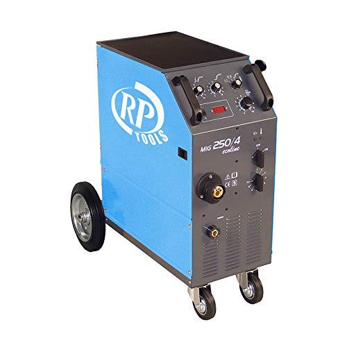 RP-TOOLS Schutzgas Schweißgerät Ecoline MIG/Mag luftgekühlt 15-250 A 3 x 400 V digital 0.6-1.2 mm 4 Rollen Vorschub Made in EU