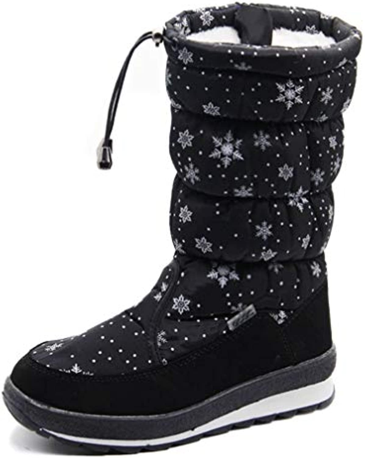 T-JULY Russian Winter Boots Women's Winter shoes Female Comfortable Snow Boots