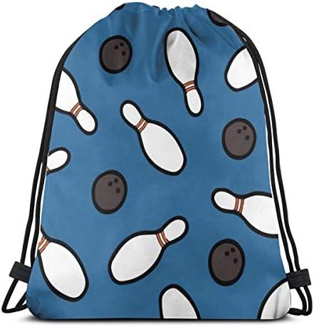 Nana Home Koi Fish Portable Backpack Drawstring Bag Sports Gym Bag for Swimming Bag for Men and Women