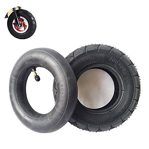 Neumáticos neumáticos internos y externos de 200X50, neumáticos de 8 Pulgadas de Grosor Resistentes al Desgaste, adecuados para Mini vehículos eléctricos, Seguros y cómodos