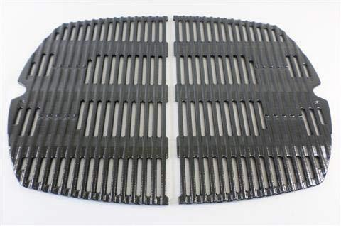 Weber 69933glänzend Gusseisen Porzellan emailierten Ersatz Reiben für Weber Q3000Grills